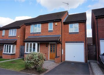 Thumbnail 3 bed detached house for sale in St. Fremund Way, Leamington Spa