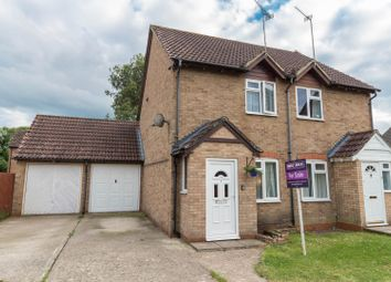 Thumbnail 2 bed semi-detached house for sale in Dove Close, Andover