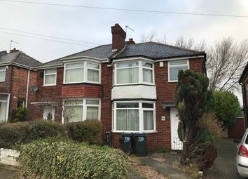 Thumbnail 3 bed semi-detached house to rent in Ermington Crescent, Hodge Hill, Birmingham