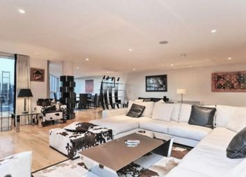 Thumbnail 3 bed flat to rent in Hamilton House, St George Wharf, London