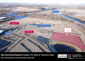 Thumbnail Land for sale in Arran Road, Perth