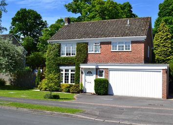 Thumbnail 4 bed detached house for sale in Conifer Crest, Wash Common, Newbury, Berkshire