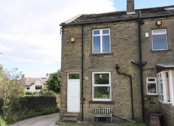 Thumbnail 2 bed end terrace house for sale in Front View, Shelf, Halifax