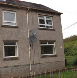 Thumbnail 1 bed flat to rent in 24d Mill Crescent, Newmilns