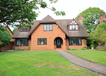 Thumbnail 4 bed detached house for sale in Guernsey Drive, Newcastle-Under-Lyme