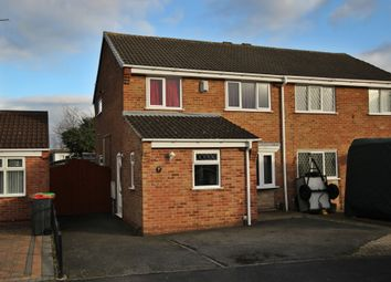 Thumbnail 3 bed semi-detached house for sale in Derbyshire Drive, Westwood, Nottingham