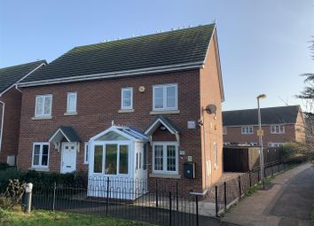 Thumbnail 3 bed semi-detached house for sale in Saw Mill Way, Burton-On-Trent