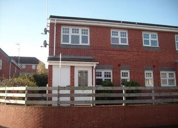 Thumbnail 1 bed flat to rent in York Close, Rugeley