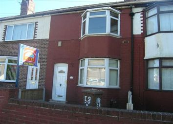 Thumbnail 3 bed town house to rent in Herbert Street, St. Helens