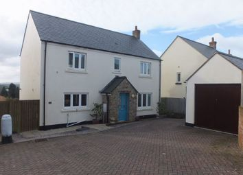 Thumbnail 4 bed detached house for sale in Blangy Close, North Tawton