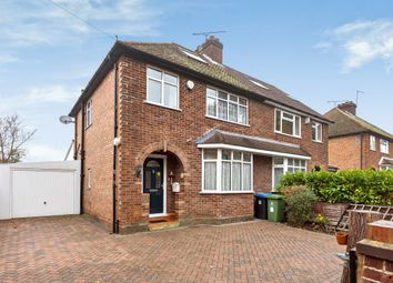 Thumbnail 3 bedroom detached house for sale in Knaphill, Woking