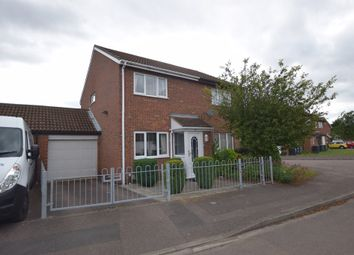 Thumbnail Semi-detached house for sale in Alburgh Close, Bedford