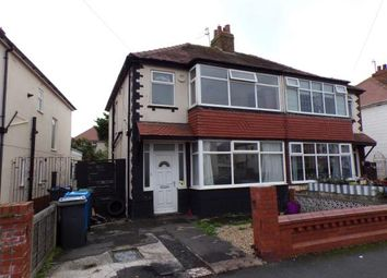 Thumbnail 3 bed semi-detached house for sale in Clegg Avenue, Thornton-Cleveleys, Lancashire