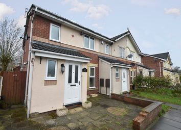 Thumbnail 2 bed semi-detached house for sale in Oxbow Way, Whitefield, Manchester