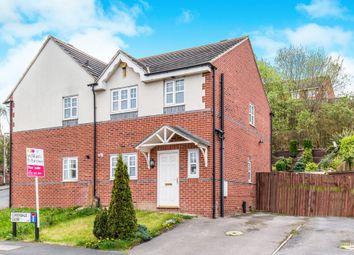 Thumbnail 3 bed semi-detached house for sale in Coverdale Close, Leeds
