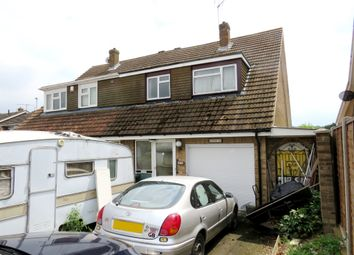 Thumbnail 3 bedroom semi-detached house for sale in Maple Way, Royston
