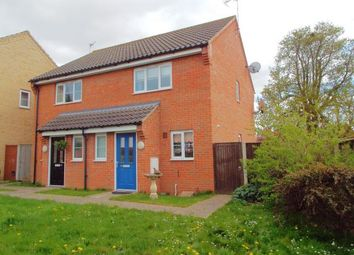 Thumbnail 2 bedroom semi-detached house for sale in Little Plumstead, Norwich, Norfolk
