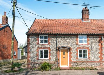 Thumbnail 3 bed semi-detached house for sale in Harling Road, Great Hockham, Thetford