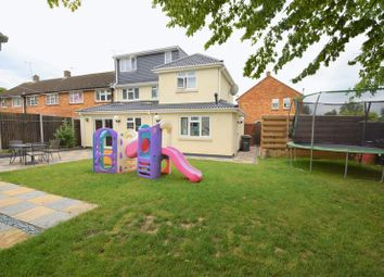 Thumbnail 4 bed end terrace house for sale in Braintree Close, Luton