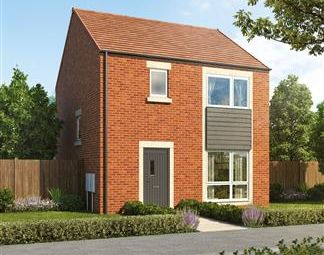 Thumbnail 3 bed detached house for sale in Stephenson Park, Killingworth