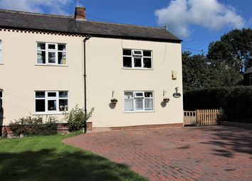 Thumbnail 4 bed semi-detached house for sale in Holmes Chapel Road, Lach Dennis, Northwich