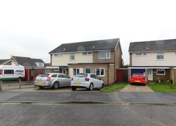 Thumbnail 3 bed semi-detached house for sale in Winchester Close, Stowmarket