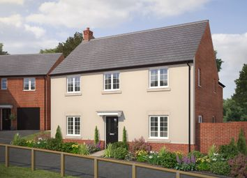 "Thumbnail 4 bed detached house for sale in ""The Glinton"" at Bryony Road, Hamilton, Leicester"