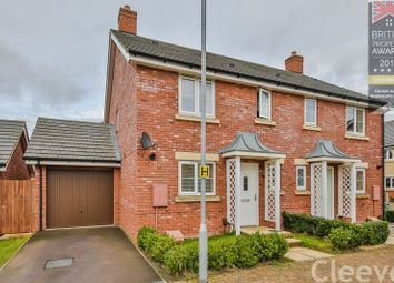 Thumbnail 3 bed semi-detached house for sale in Cowslip Drive, Bishops Cleeve, Cheltenham