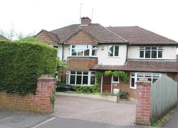 Thumbnail 4 bed semi-detached house to rent in Bramblys Drive, Basingstoke