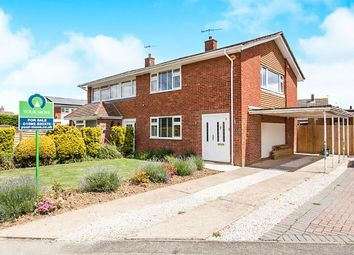 Thumbnail 3 bed semi-detached house for sale in Elgar Close, Tonbridge