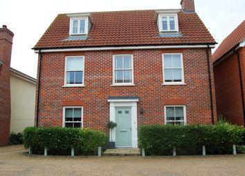 Thumbnail 4 bed detached house for sale in Castle Brooks, Framlingham