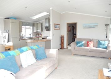 Thumbnail 3 bedroom lodge for sale in Barholm Road, Tallington, Stamford