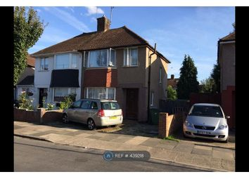 Thumbnail 3 bed semi-detached house to rent in Bracondale Road, London