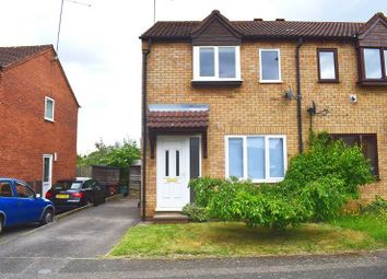 Thumbnail 2 bedroom semi-detached house to rent in Kelburn Close, East Hunsbury, Northampton.