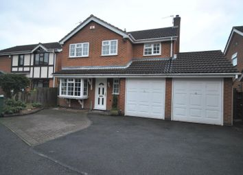 Thumbnail 4 bed detached house to rent in Thirlmere Road, Barrow Upon Soar, Loughborough
