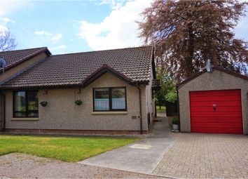 Thumbnail 2 bed semi-detached bungalow for sale in Parkview, Elgin