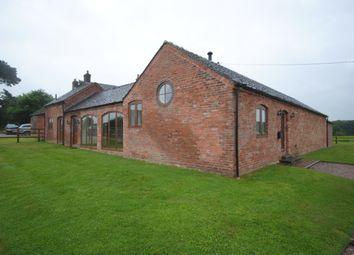 Thumbnail 4 bed barn conversion to rent in Newcastle Road, Eccleshall, Stafford