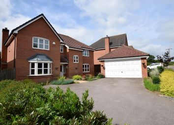 Thumbnail 5 bed detached house for sale in Harborough Close, Whissendine, Rutland