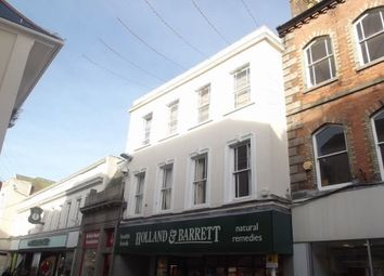 Thumbnail 2 bedroom flat to rent in Market Street, Falmouth