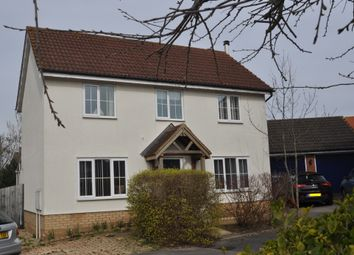 Thumbnail 3 bed detached house for sale in Kingfisher Way, Stowmarket