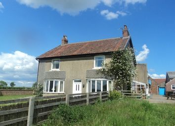 Thumbnail 4 bed farmhouse to rent in Kirby Misperton, Malton
