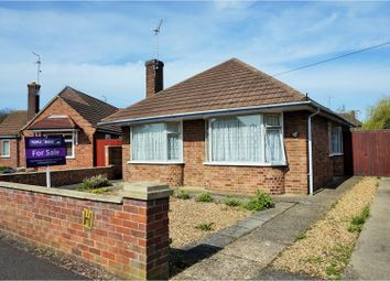 Thumbnail 2 bedroom detached bungalow for sale in Francis Gardens, Peterborough
