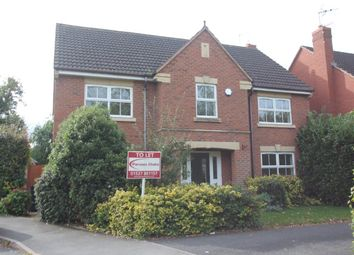 Thumbnail 4 bed detached house to rent in Pear Tree Way, Droitwich