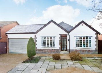 Thumbnail 4 bed detached bungalow for sale in New Hall Lane, Bolton