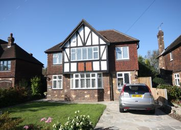 Thumbnail 5 bed detached house to rent in Sutherland Avenue, Petts Wood, Orpington