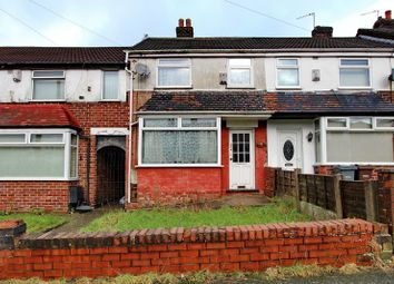 Thumbnail 2 bed terraced house for sale in Caldecott Road, Blackley, Manchester