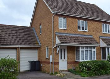 Thumbnail 3 bed semi-detached house to rent in Cartmel Priory, Bedford