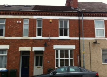 Thumbnail 4 bed terraced house to rent in Brunswick Road, Earlsdon, Coventry