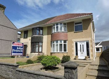 Thumbnail 3 bed semi-detached house for sale in Llangyfelach Road, Treboeth, Swansea