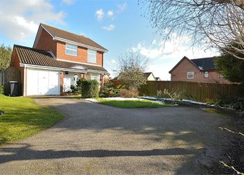 Thumbnail 3 bed detached house to rent in Rea Close, East Hunsbury, Northampton